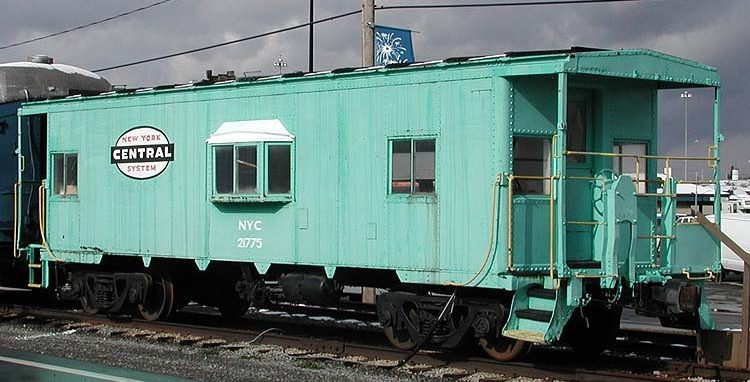 NYC bay window caboose
