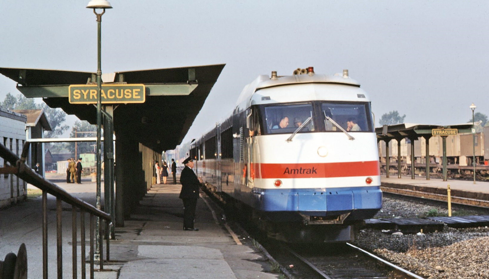 CNY NRHS Archive: AMT-RTL-042 -- East Syracuse, 1976