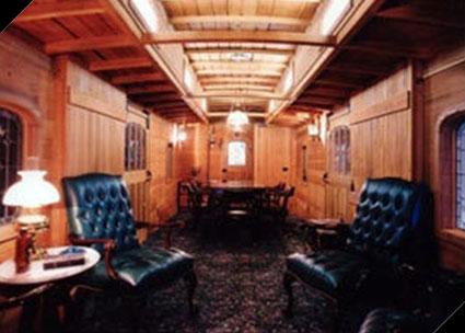 Interior upgraded for use at Tartaglia office