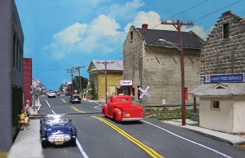 Main Street in Croghan